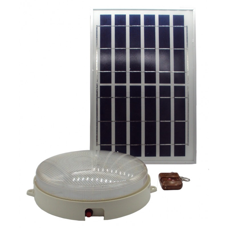 Solar Ceiling Light 10w All In One Package For Indoor